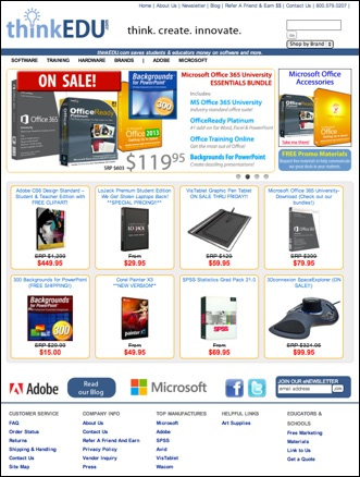 ThinkEDU Software Store