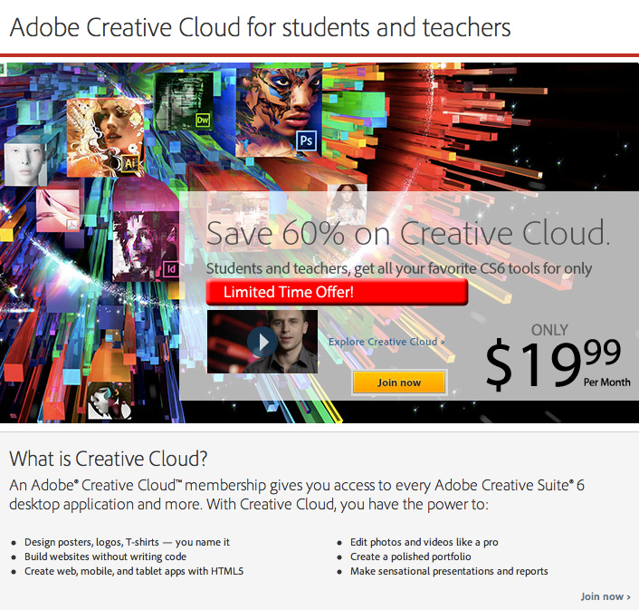 Adobe Creative Cloud Overview