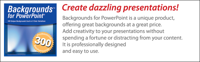 300 Backgrounds for PowerPoint