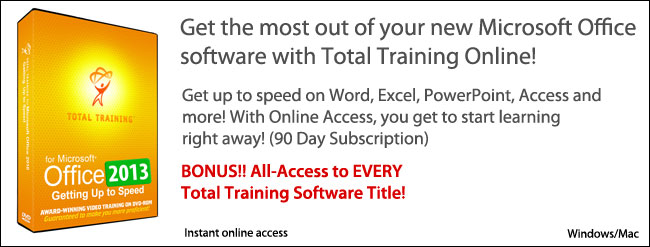 MS Office 2013 with Training