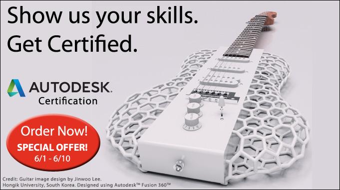 Get Autodesk Certified